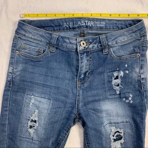 Vanilla Star Distressed Jeans Sz 5